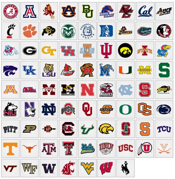 all college logos wallpapers - photo #1