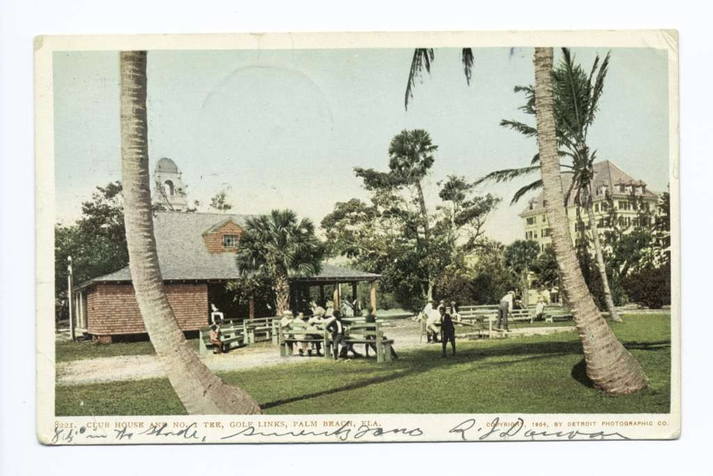 Palm Beach Golf Clubhouse and First Tee, 1904