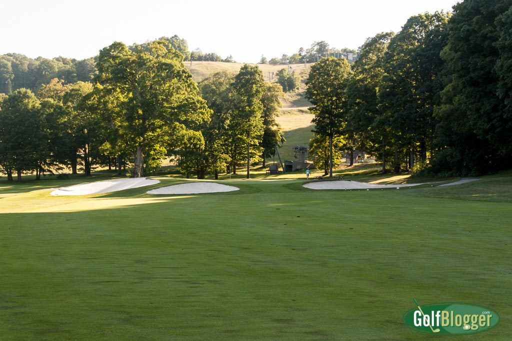 The 17th at The Heather is a 403 yard par 4.