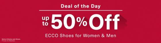 Ecco Deal of the Day
