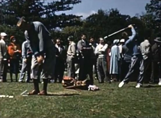 Color Footage Of The Masters - 1950