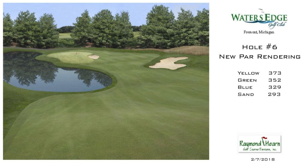 Raymond Hearn Golf Course Designs Wins ASGCA Design Excellence Award